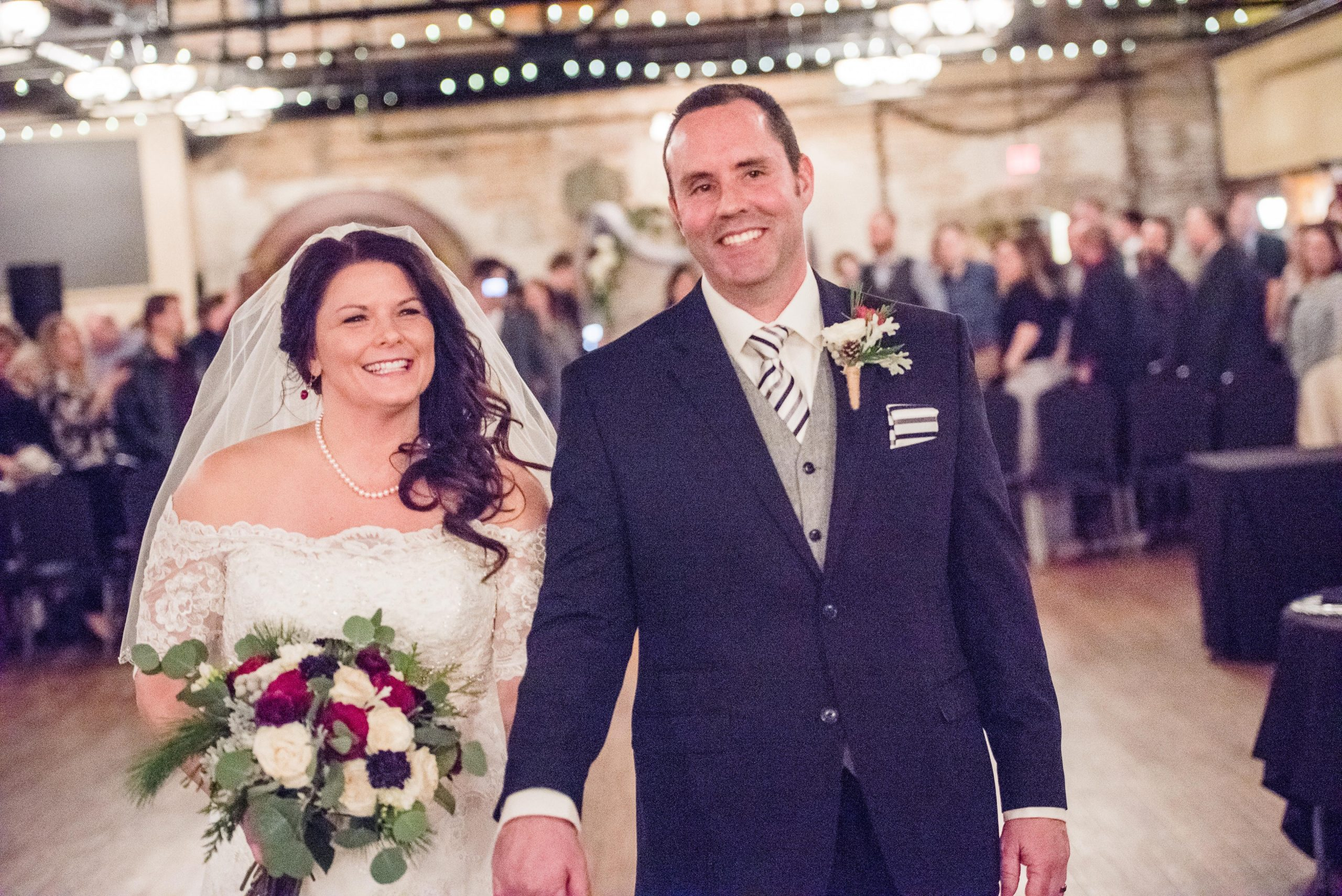 Owners Patrice and Drake wedding picture